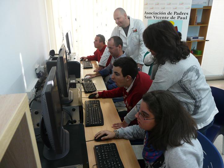 Alumnos Curso Internet San Vicente de Paul
