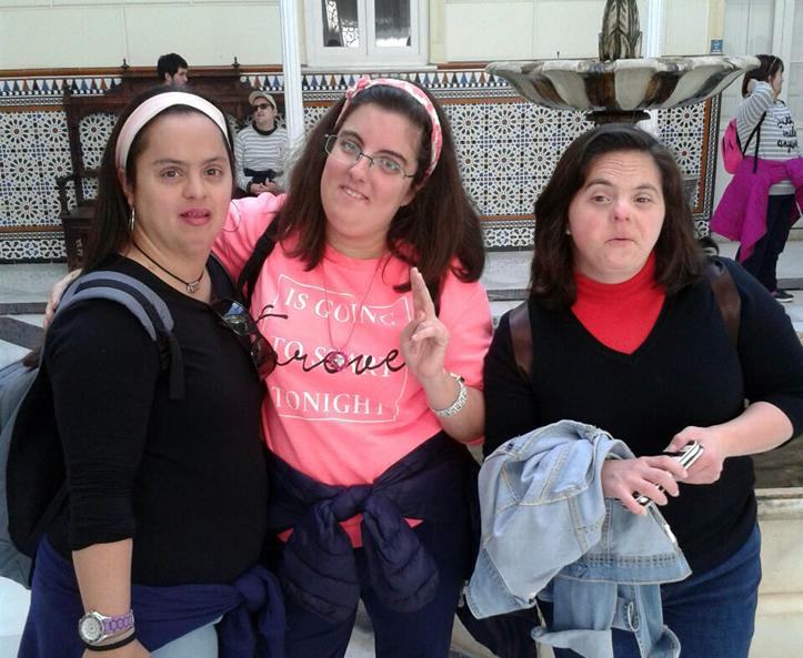 Rocío, Marta y Angelica