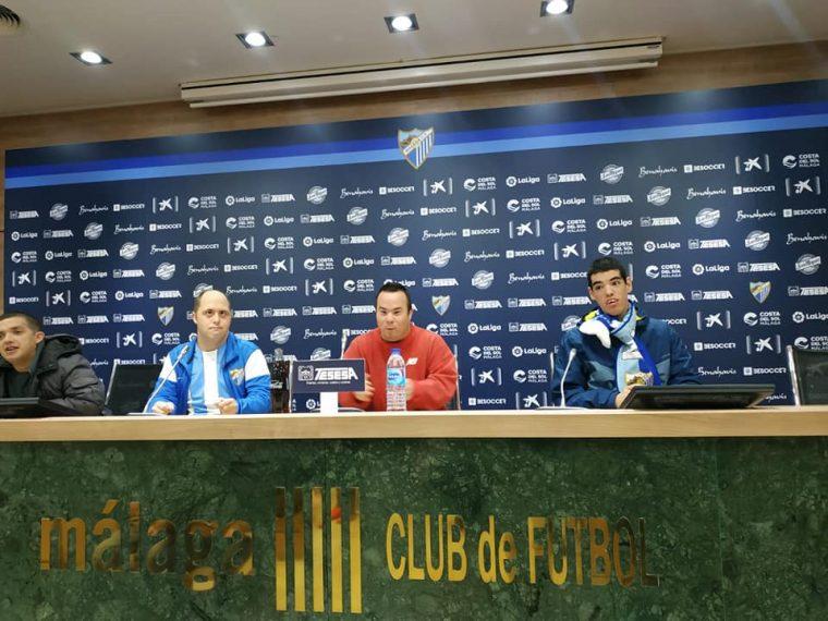 Visita al Málaga Club de Fútbol