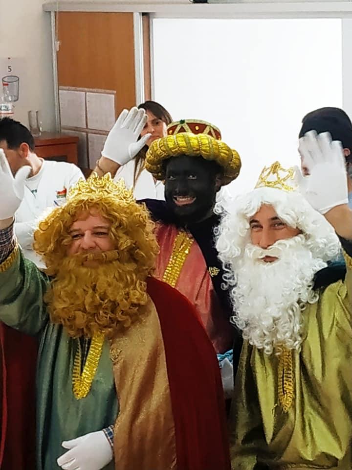 Visita de los reyes magos de Oriente a nuestro centro