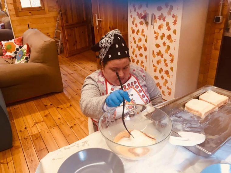 Cocinando Torrijas