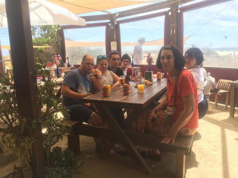 Nuestros viajeros por Tarifa y en el Zoo!!